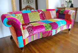 sofa patchwork