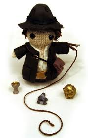 indiana jones amigurumi