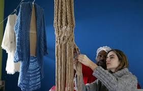 tejiendo en la carcel