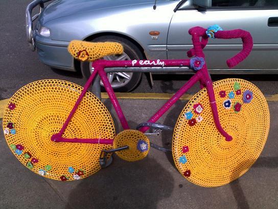 bicicleta crochet