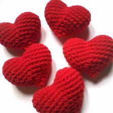 corazones lana