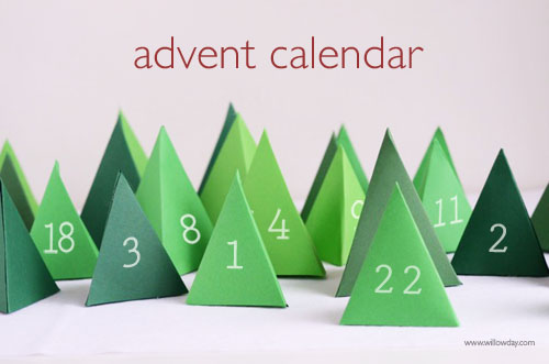 Willowday advent calendar