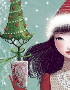 http://bibliocolors.blogspot.fr/2012/12/arbres-de-nadal-illustrats-arboles-de.html